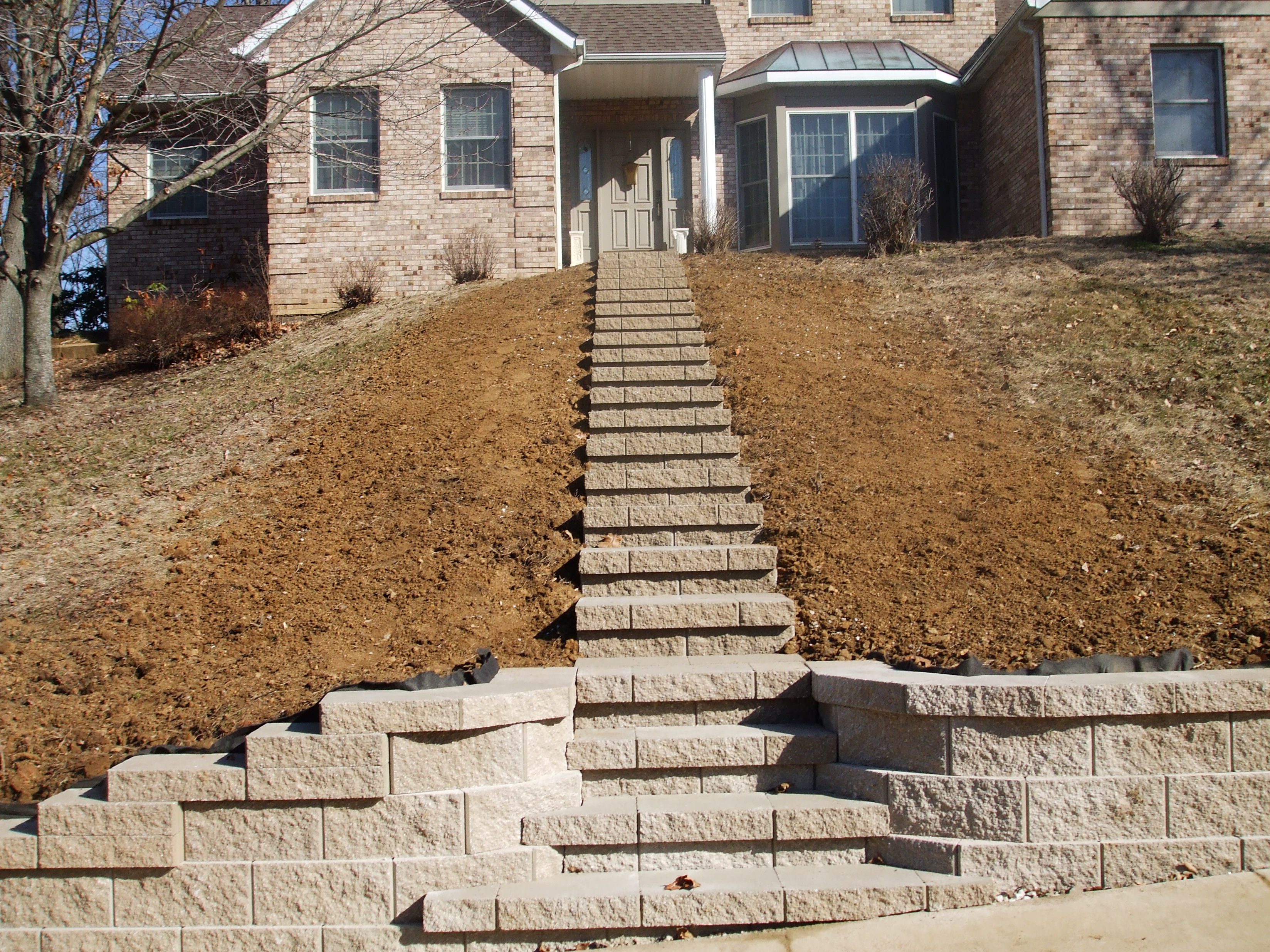 How To Build Outdoor Steps A Hill Outdoor Designs