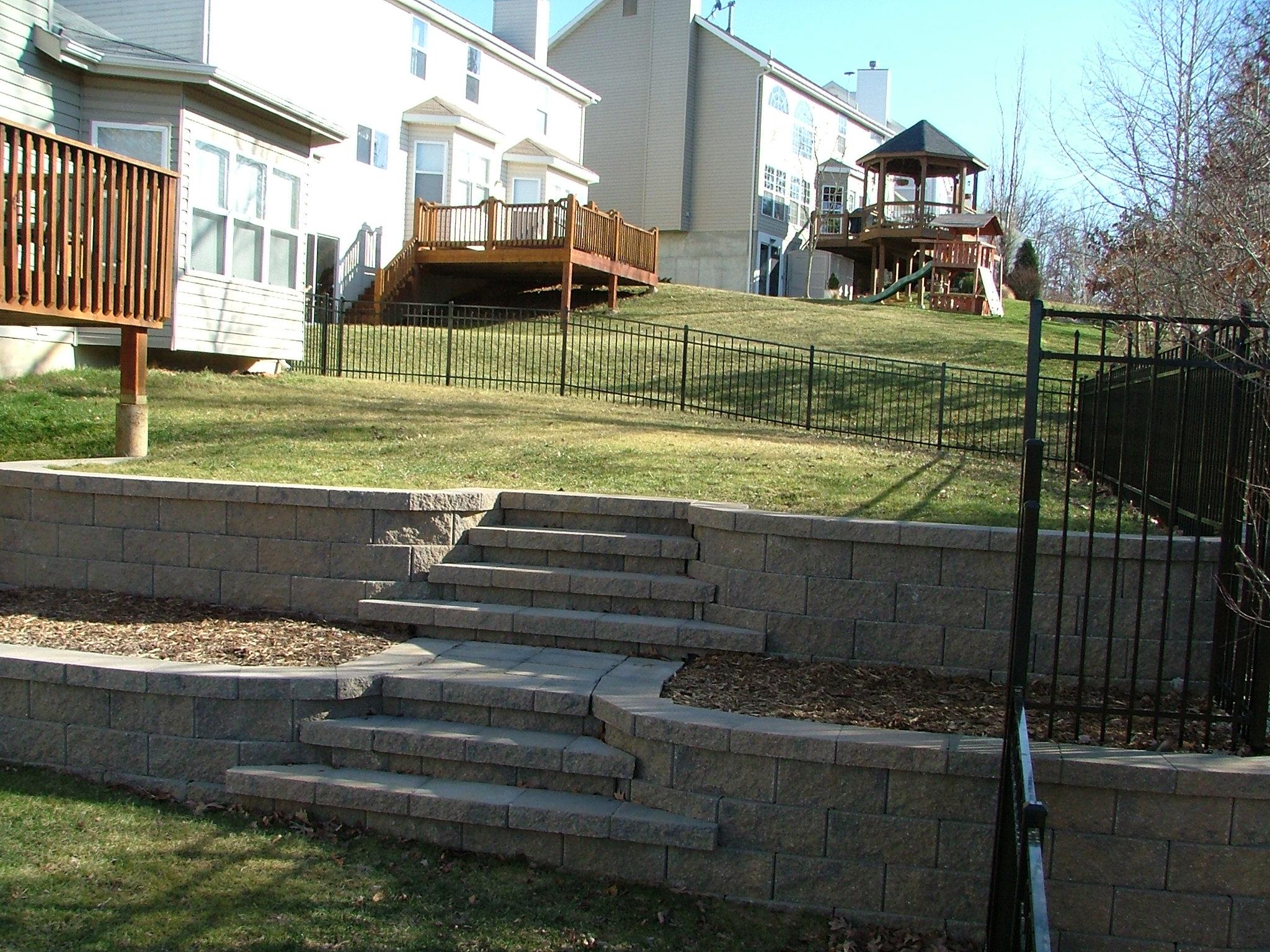 retaining wall steps album 4