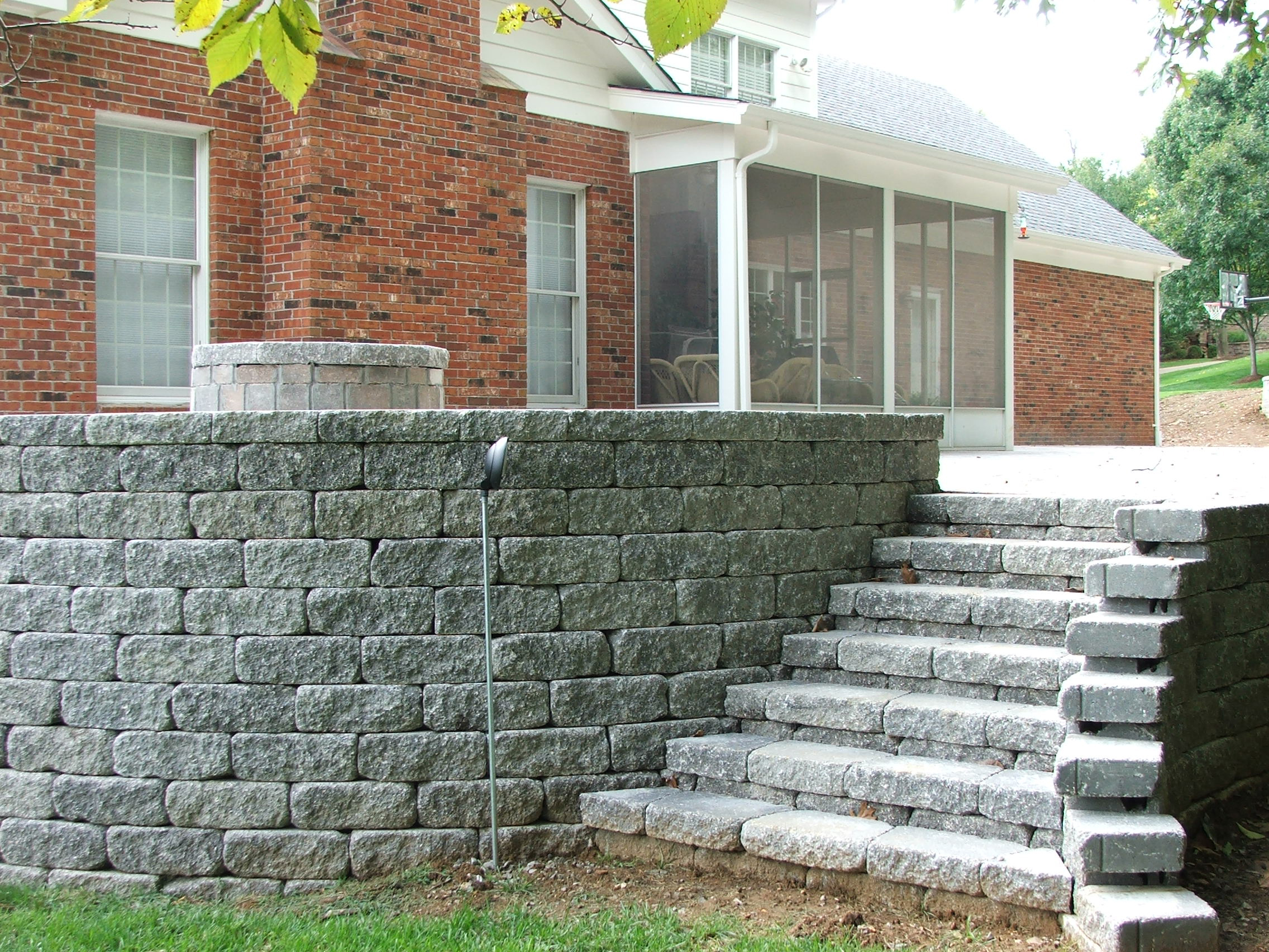 Retaining Wall Steps Album 4