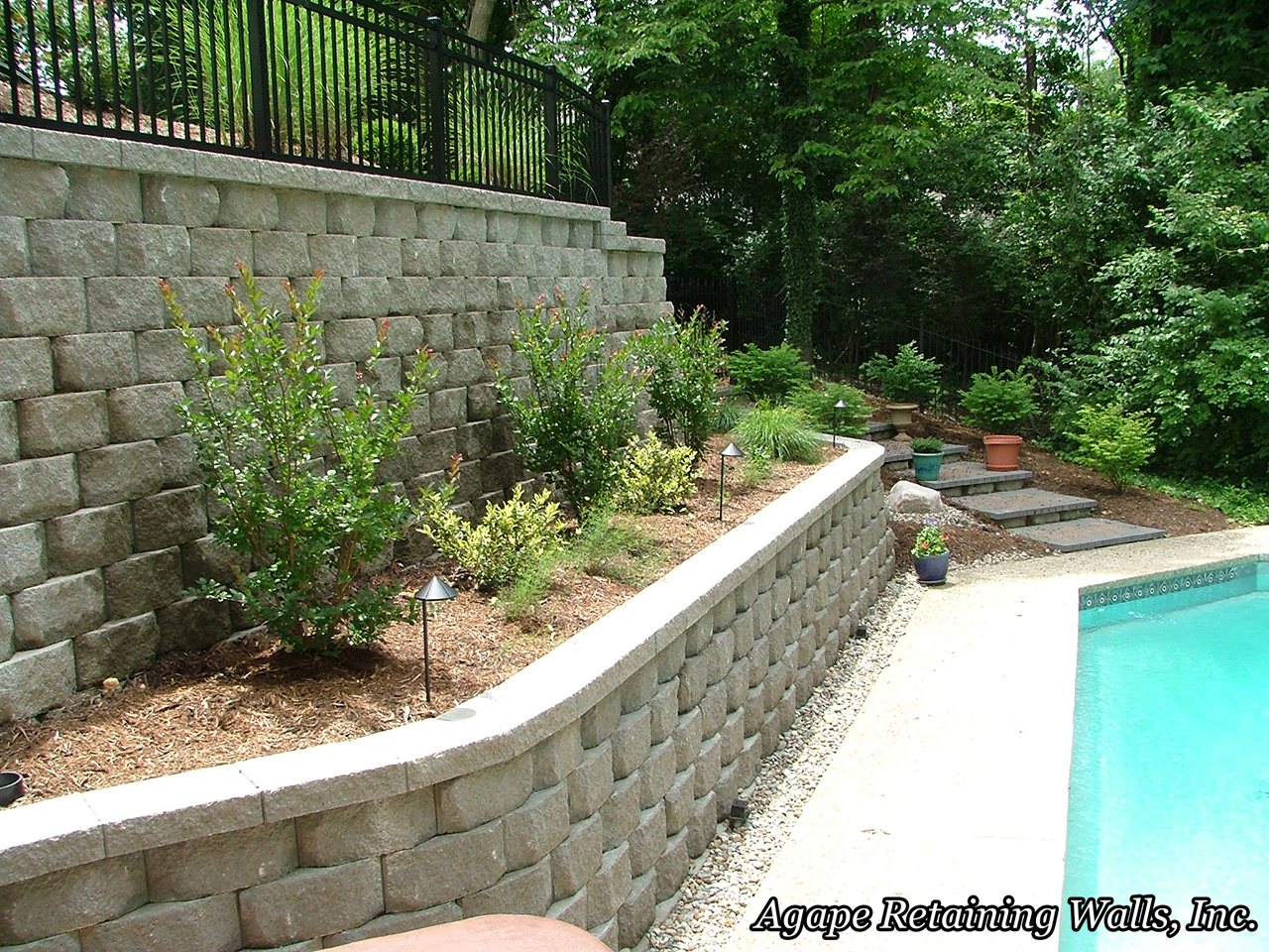 Agape Retaining Walls Inc Terrace Photo Album 4