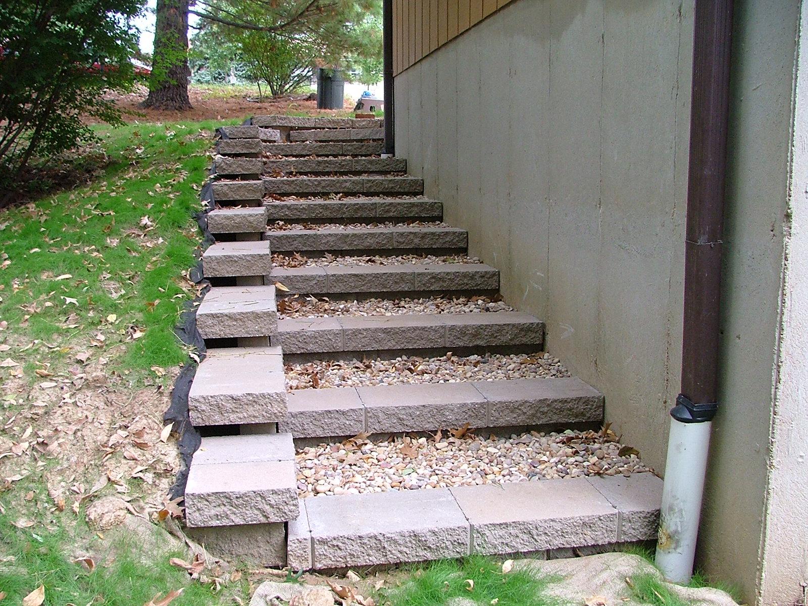 Retaining Wall Steps Al 3